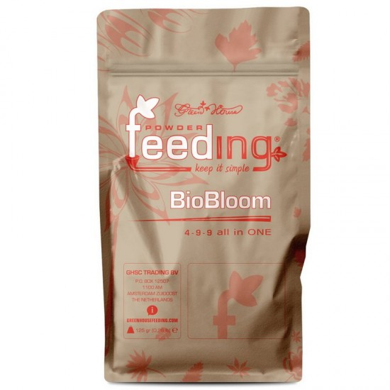 GREEN HOUSE POWDER FEEDING BIO BLOOM 500 GR
