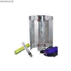 KIT 400W LUMATEK CON COOLTUBE 125MM Y PURE LIGHT HPS 400 W GROW-BLOOM MAX