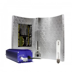 KIT 400W LUMATEK CON REFLECTOR STUCO Y PURE LIGHT HPS 400 W GROW-BLOOM MAX