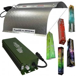KIT 600W BOLT CON CONADJUST-A-WINGS® ENFORCER MEDIUM Y PURE LIGHT MH 600 W GROW,(HM)