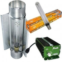 KIT 600W BOLT CON COOLTUBE 150MM Y PURE LIGHT HPS 600 W GROW-BLOOM MAX