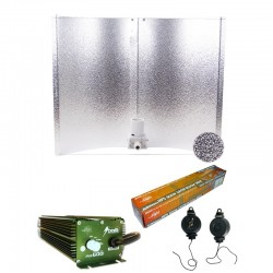 KIT 600W BOLT + REFLECTOR PURE 47 PLUS + SYLVANIA GROLUX 600W