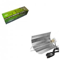 KIT PURE LIGHT CFL 125 W GREENPOWER (2700K-6400K)