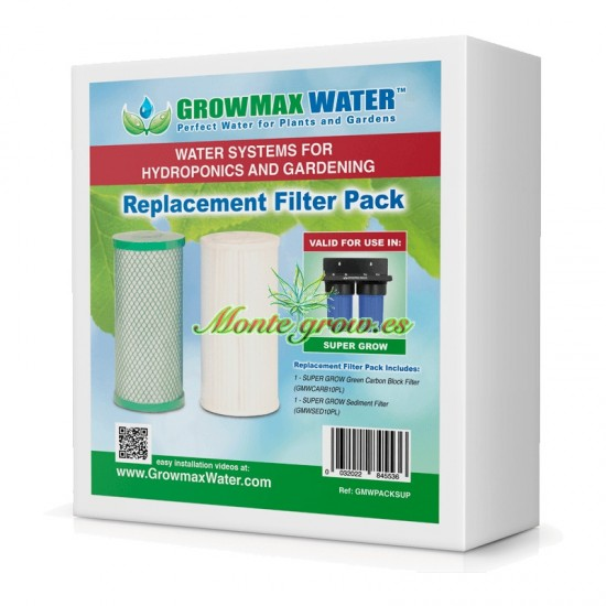 PACK DE FILTROS DE RECAMBIO SUPER GROW