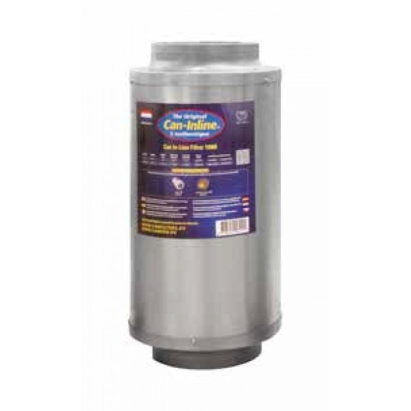 FILTRO CARBON CAN FILTER IN LINE 1000 M3/H 200 MM