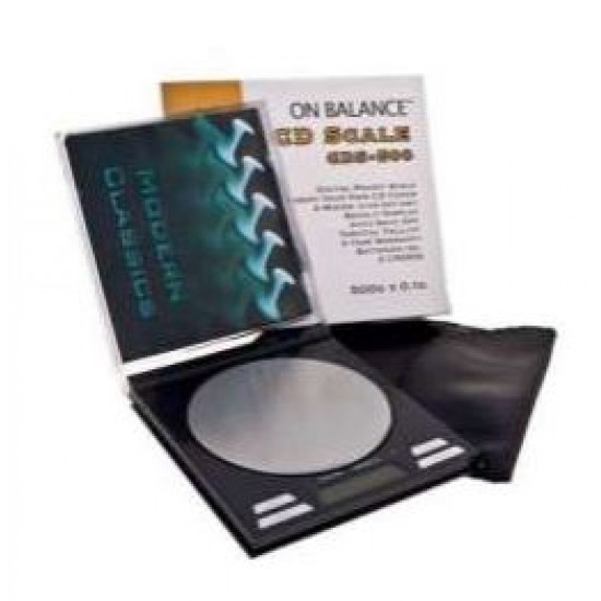 ON BALANCE SQUARE SCALE (CD 500 Gr. X 0,1)